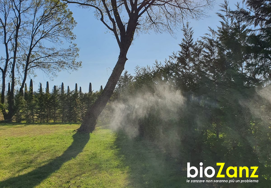 Natural barrier against mosquitoes