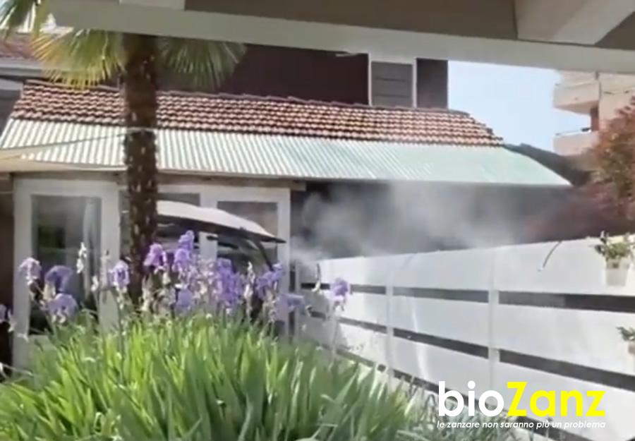 Garden mosquito repellent