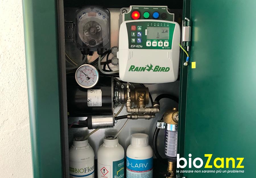 garden mosquito repellent system